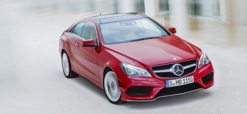 Offen heraus: Coupé und Cabrio der neuen #Mercedes E-Klasse zeigen sich.