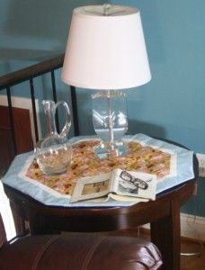 Table Runner An Easy Way To Add Color Style To Rooms Make A Table Table Runners End Tables
