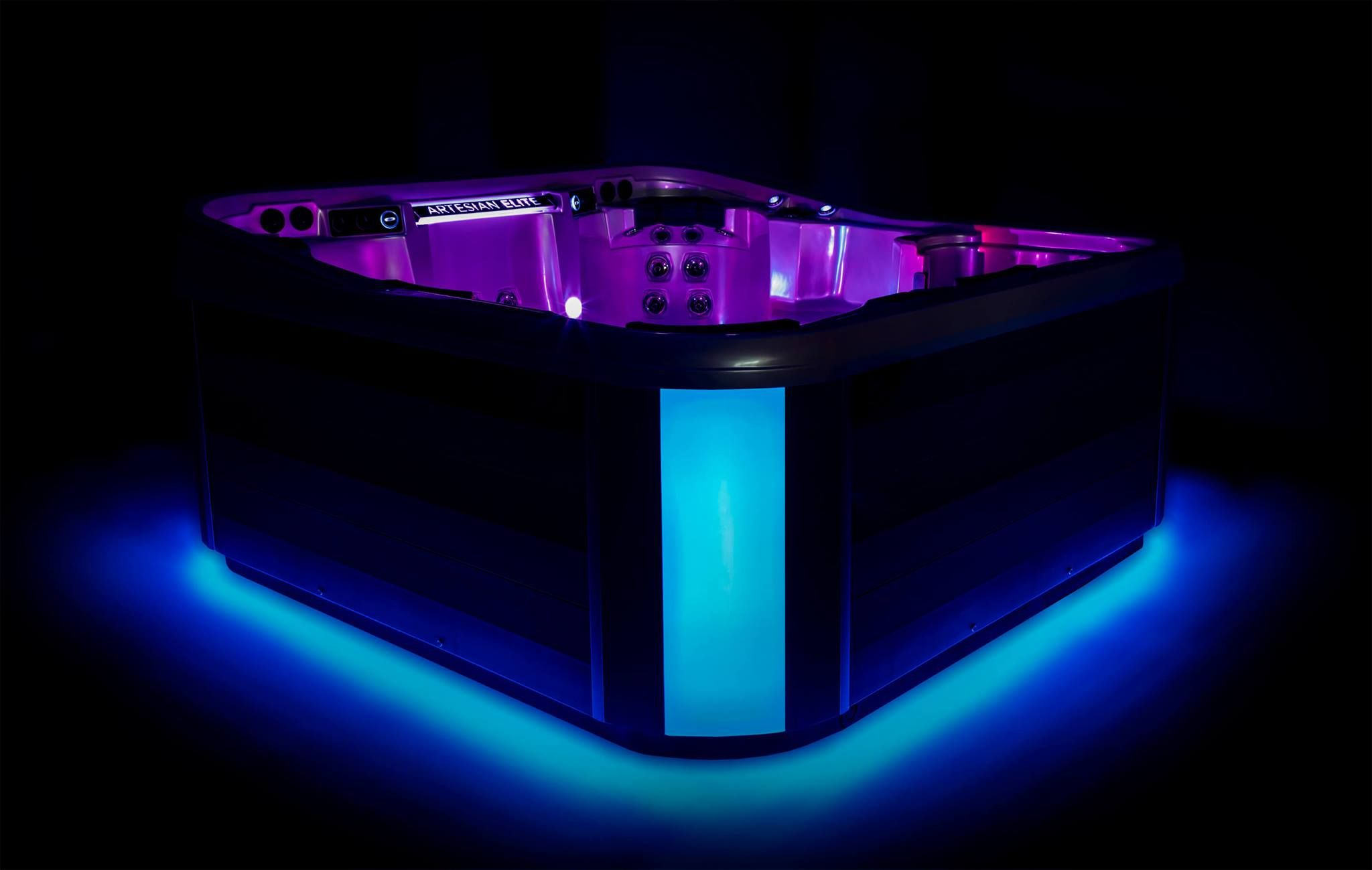 Led Lighting Features With Images Led Pool Lighting Tub