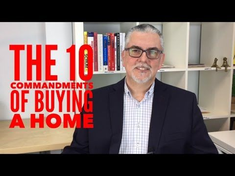 Blog: Part 2 of the 10 commandments when buying a home
