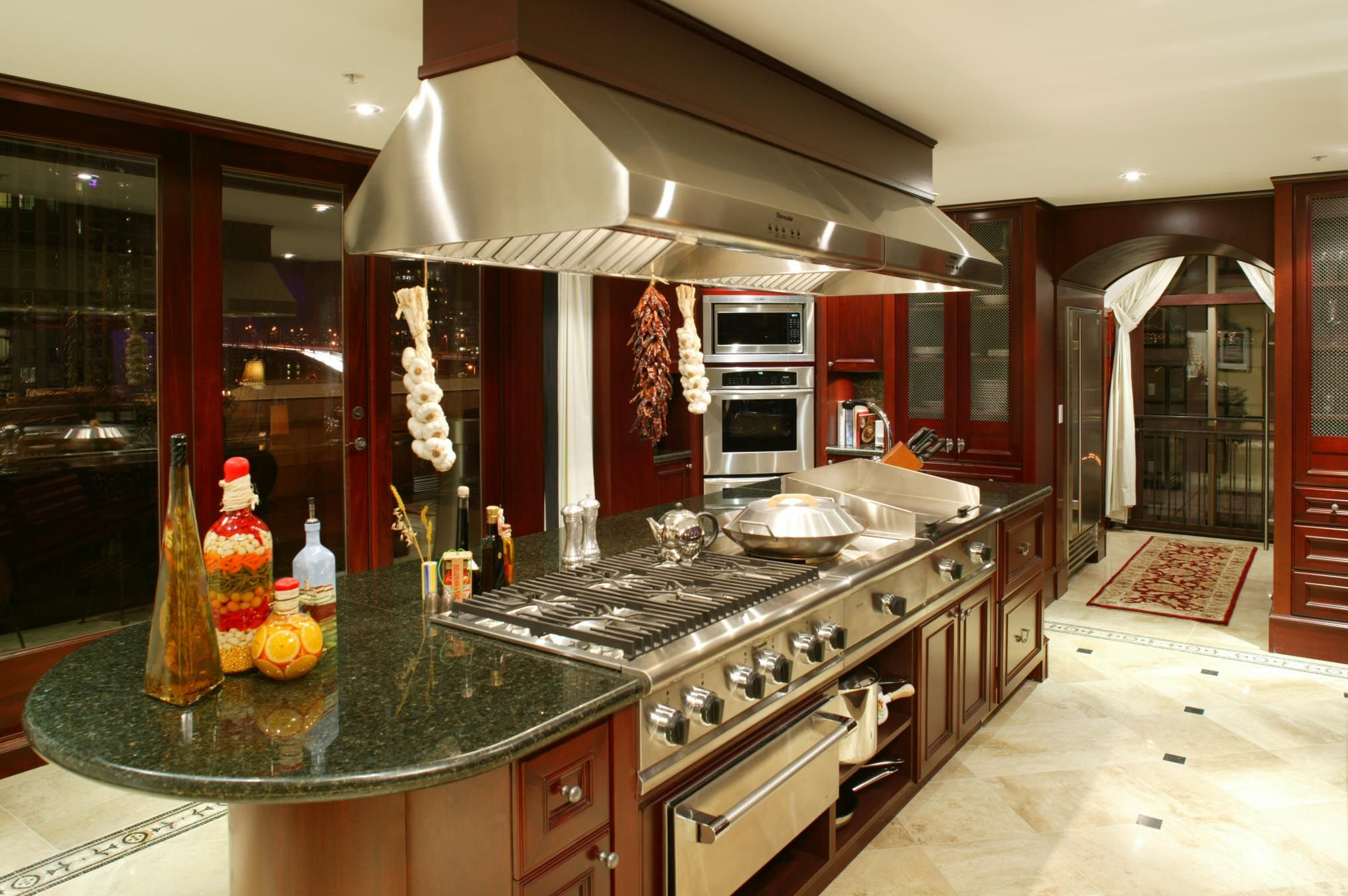 Luxurious Kitchens Luxury Kitchens  Downtown Vancouver Luxury Penthouse At Grace