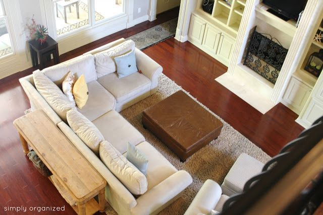 living room set up | found on besimplyorganized blogspot com