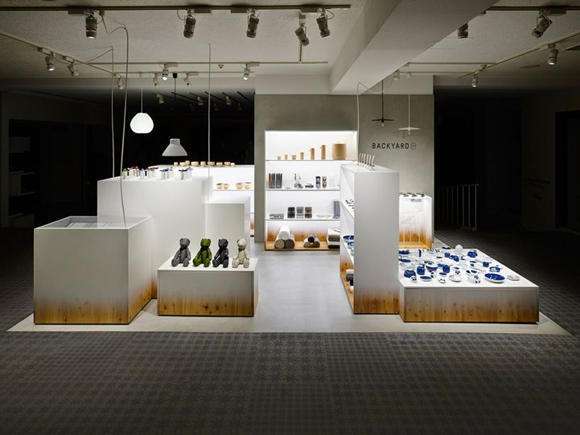 Nendo Adds Backyard Elements To Retail Space For By Store Design