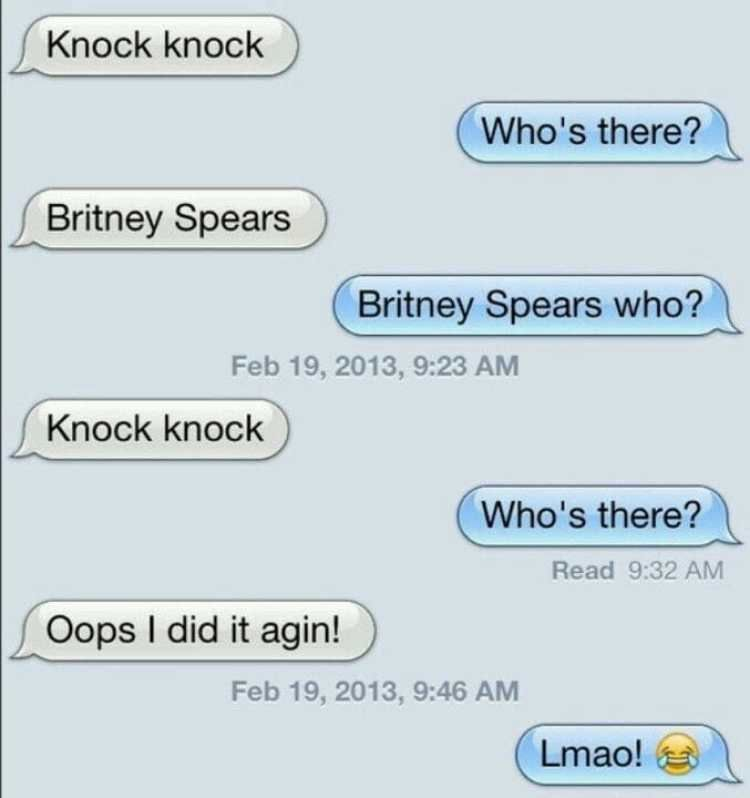 Funny Adult Knock Knock Jokes 96