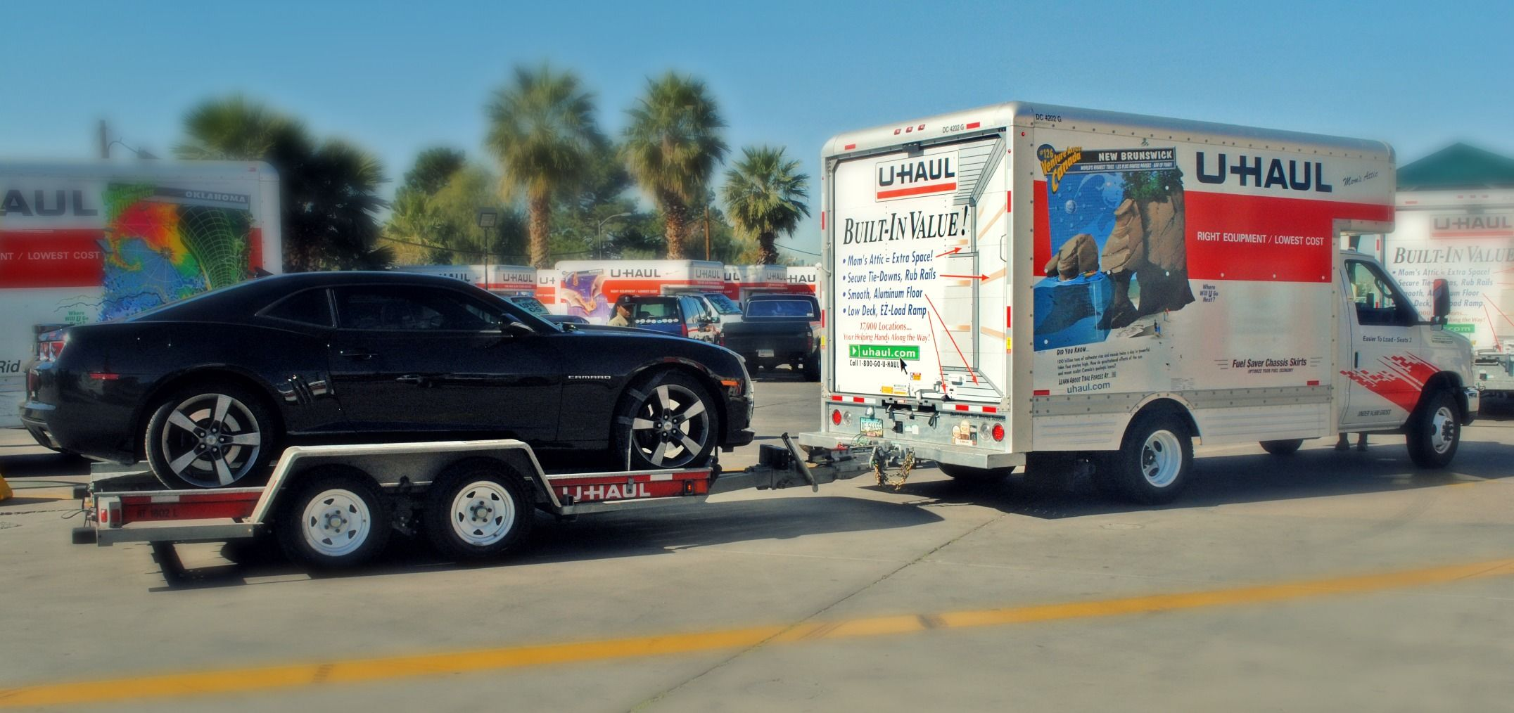 Uhaul and movers
