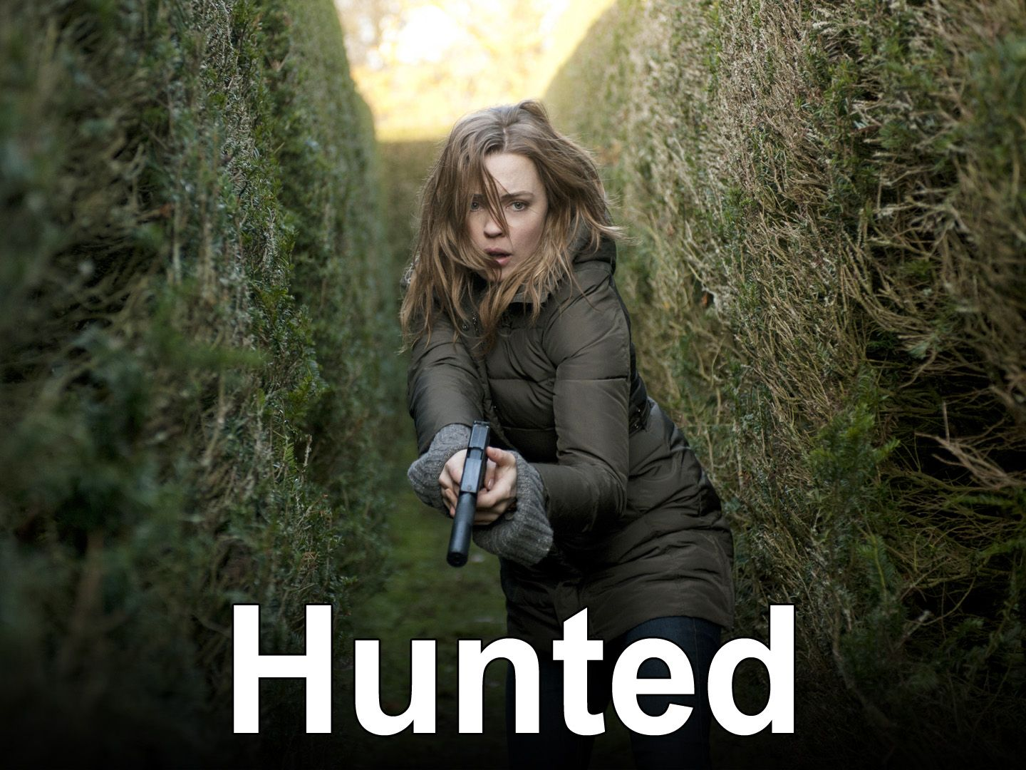 hunted tv 'mini-series'as only the brits can do it.very good