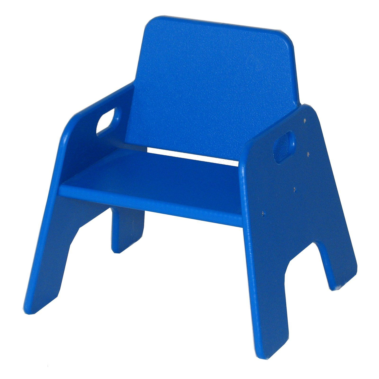 Strictly For Kids Indoor Outdoor Toddler Stack Chair Blue