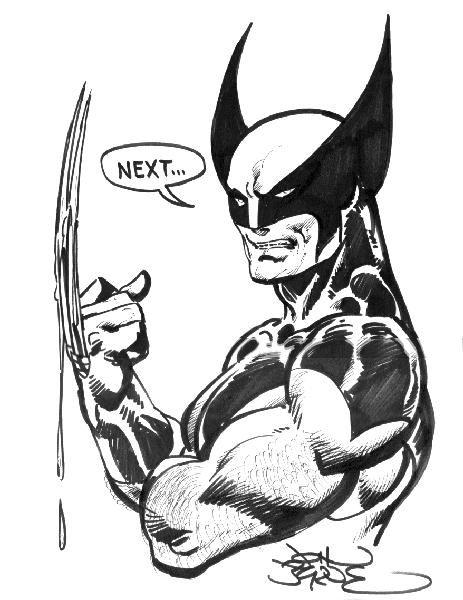 Wolverine by John Byrne. | John Byrne | Pinterest | Panteras negras ...