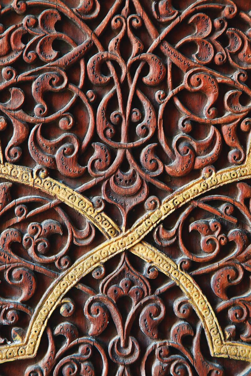 Turkish islamic arts anatolia wood craft art islamic ottoman