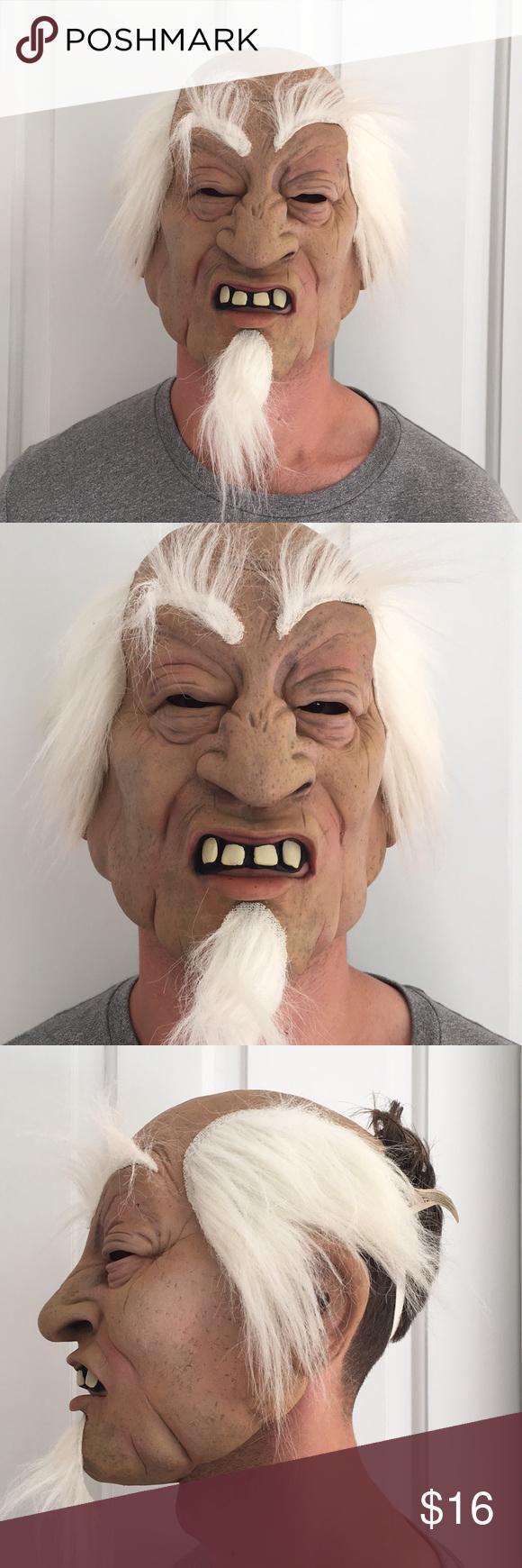 Halloween Mask Scary Old Man Scary Halloween Masks Halloween Masks Old Man Mask