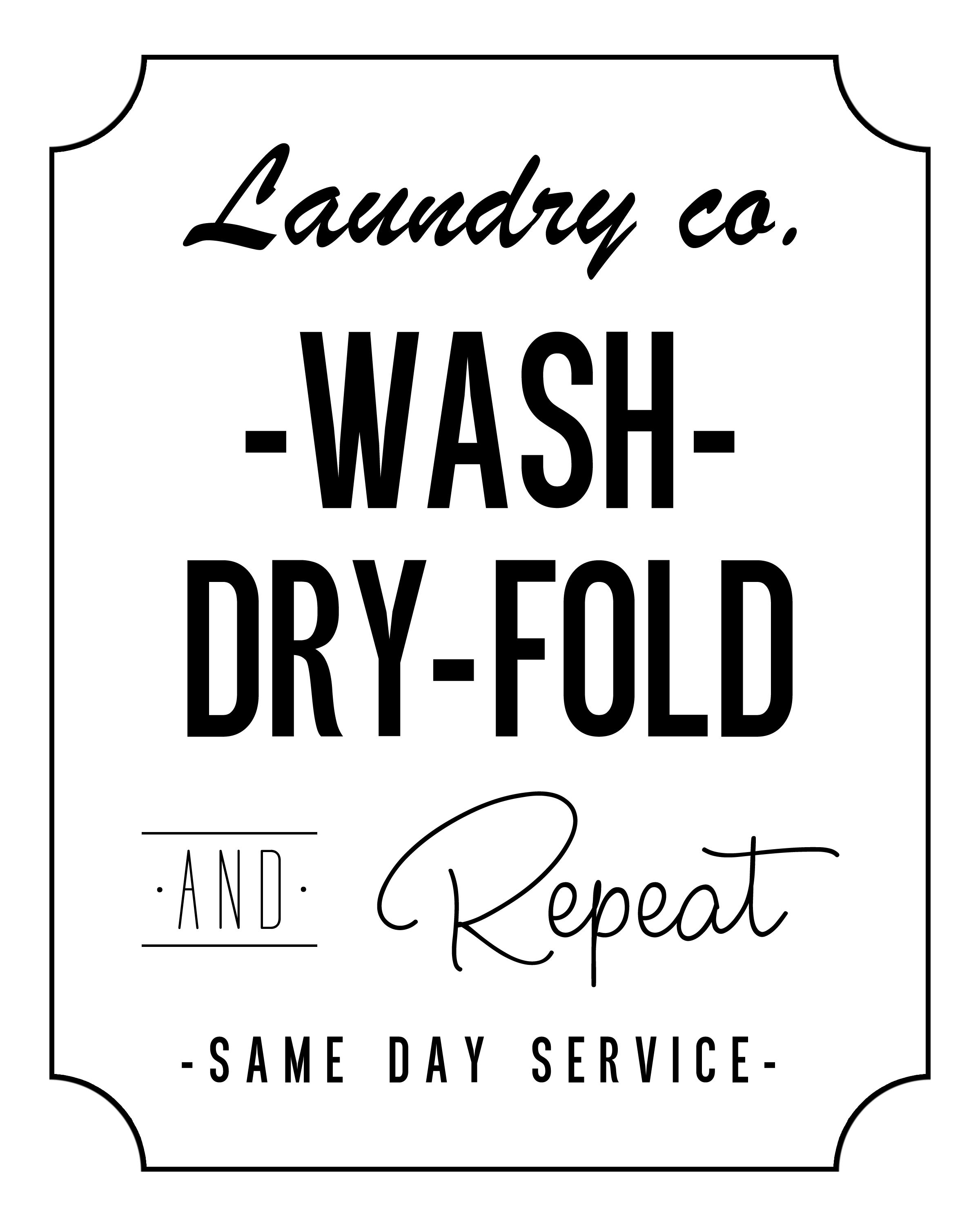 Free Printable Laundry Room Wall Art The Cottage Market