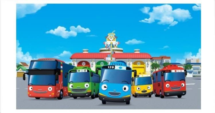 Gambar Mobil Kartun Tayo