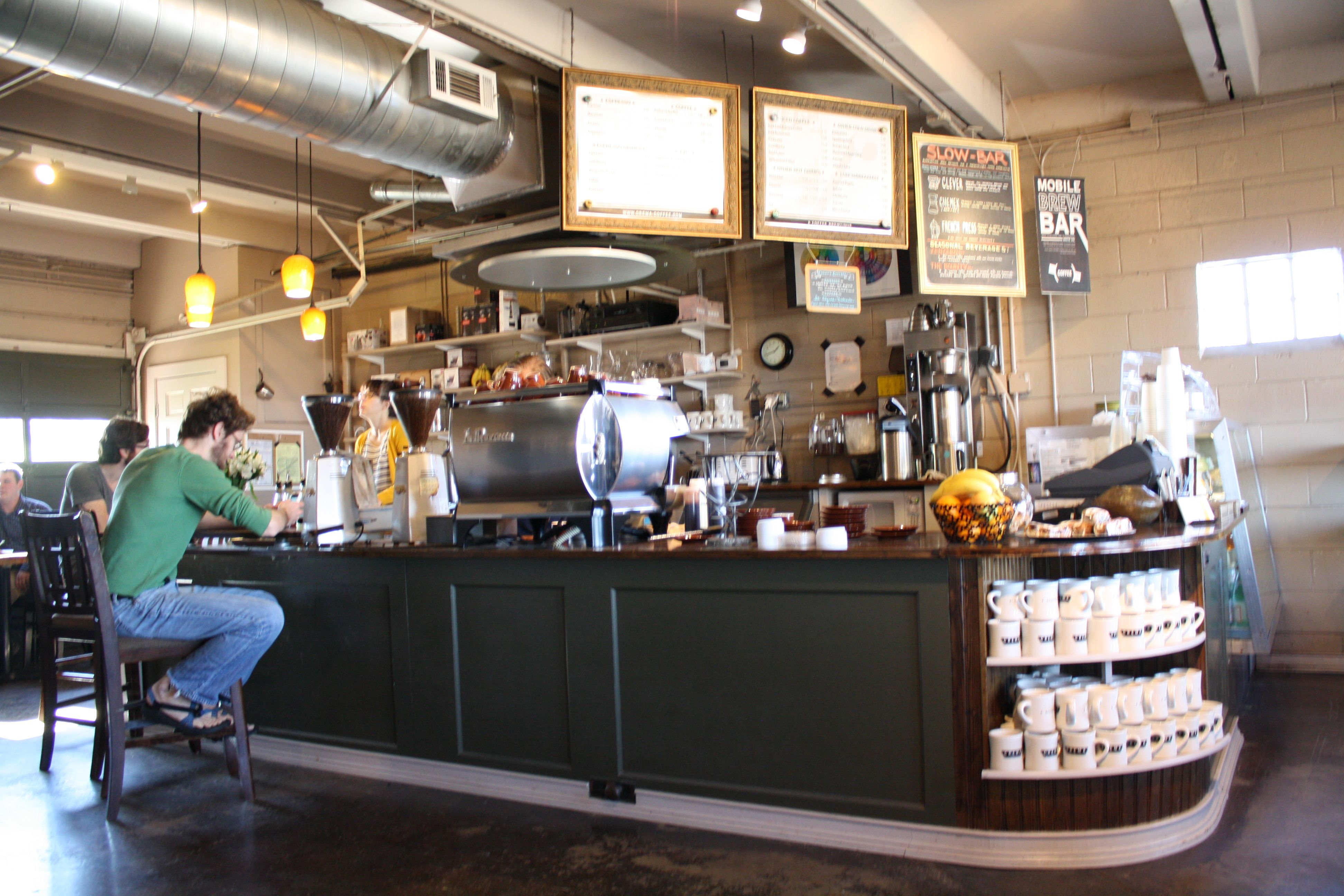 Crema in downtown nashville tennessee coffeehouses in