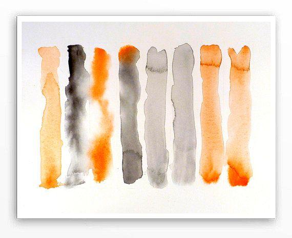 1. zeitgenössische moderne abstrakte Kunst / von WatercolorByMuren