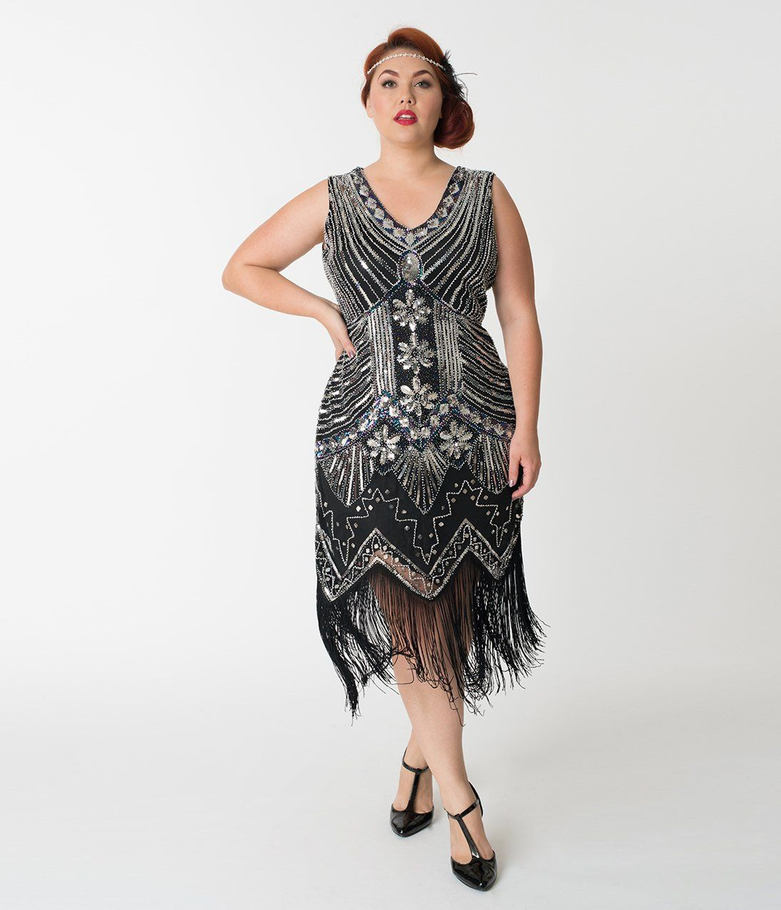 Unique Vintage Plus Size 1920s