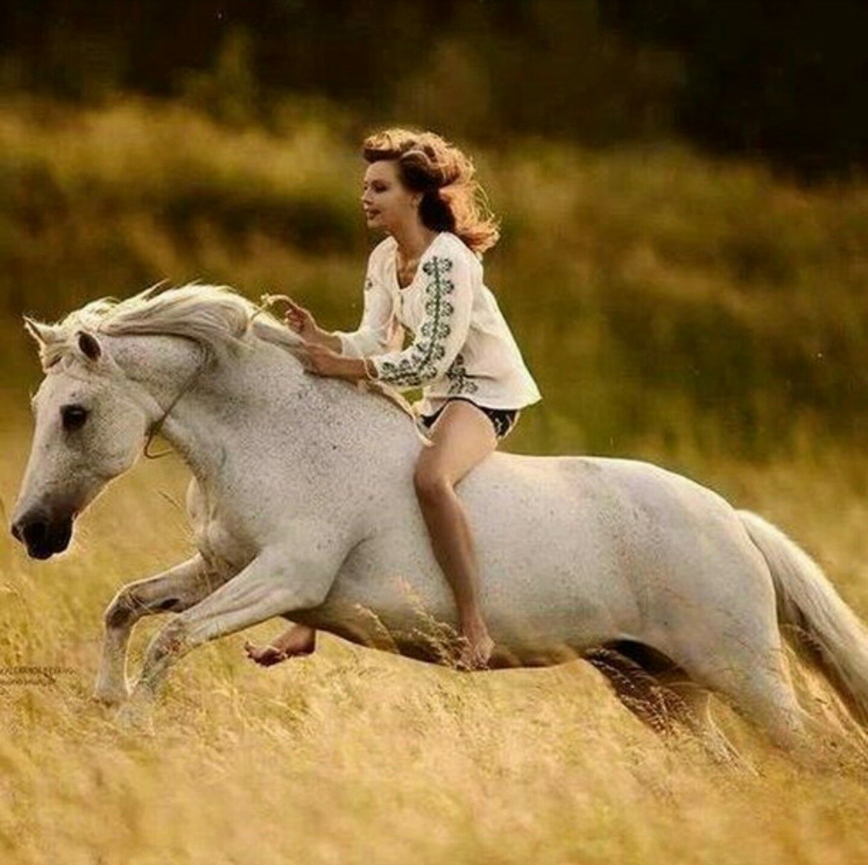 фото людей с конями сайте собраны