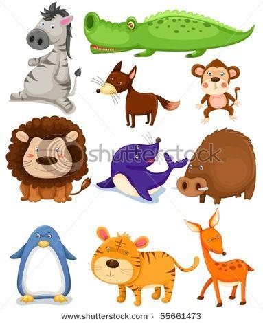 Animal Toonies Animals Wild Zoo Animals Animals