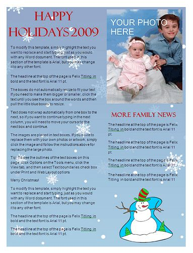 3978622743_6ec1446932jpg (383×500) CHRISTMAS NEWSLETTERS - microsoft word christmas letter template
