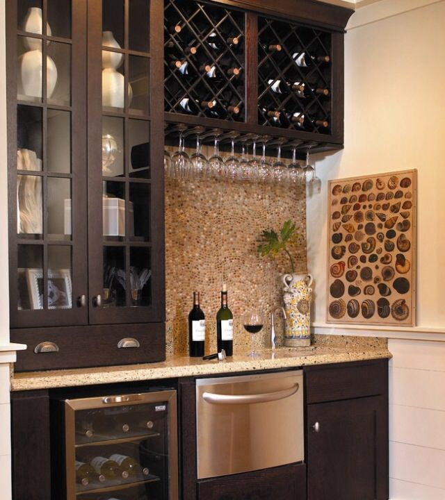 Mini Bar Instead Of Location Of Piano Or On 3rd Floor Home Wine