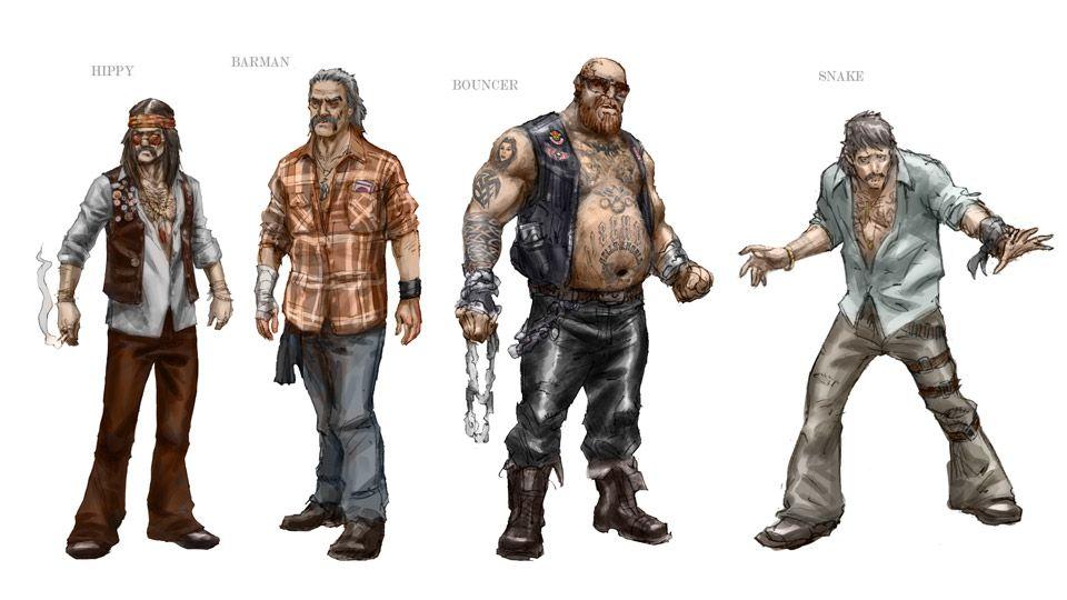 Gang Concept Art Google Search Character Art Character Design