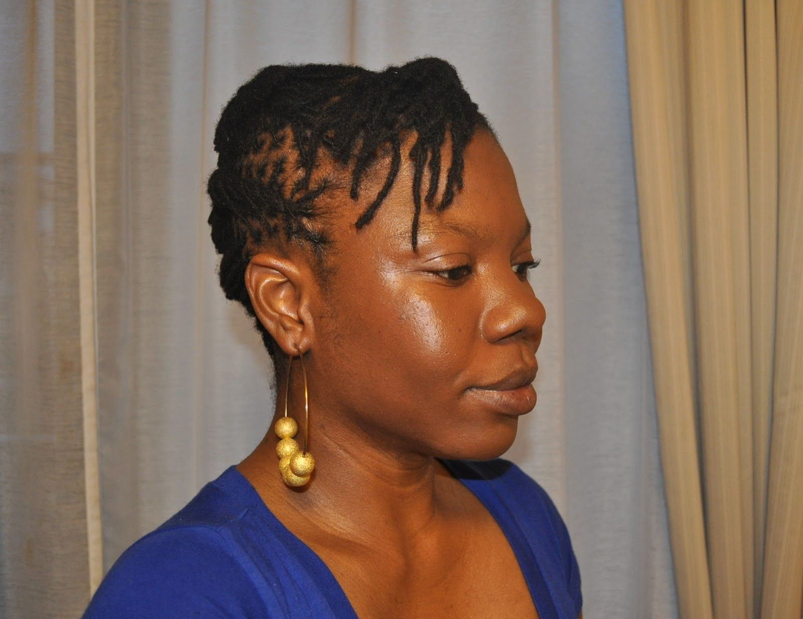 Loc Styles For Short Hair Photo 9