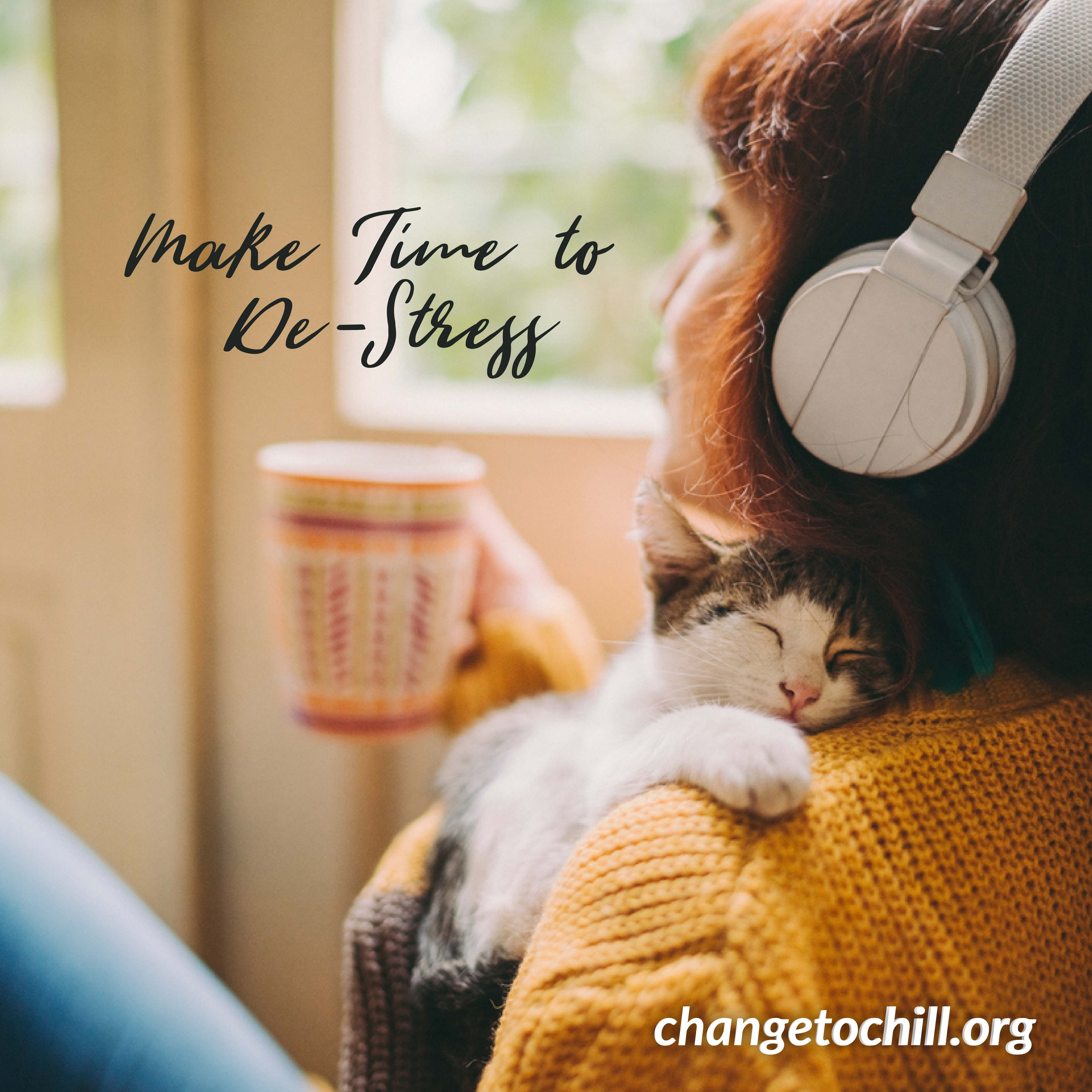 Make time to destress in 2020 stress causes make time