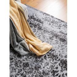 Photo of benuta Trends Flachgewebeteppich Tosca Schwarz 75×165 cm – Vintage Teppich im Used-Look