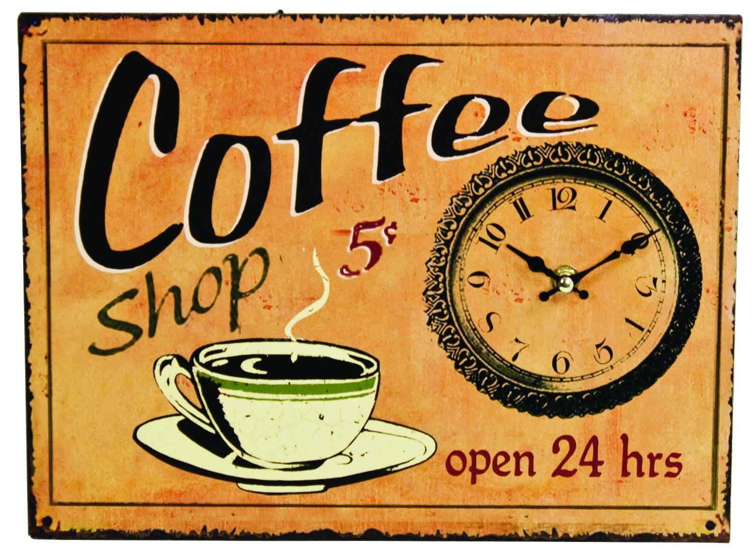 Coffee shop open 24 hrs coffee shop signs vintage