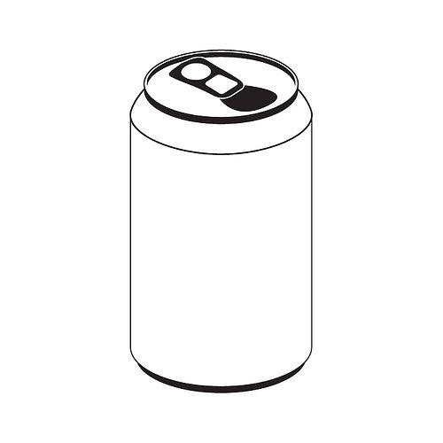 48++ Canned food clipart black and white information