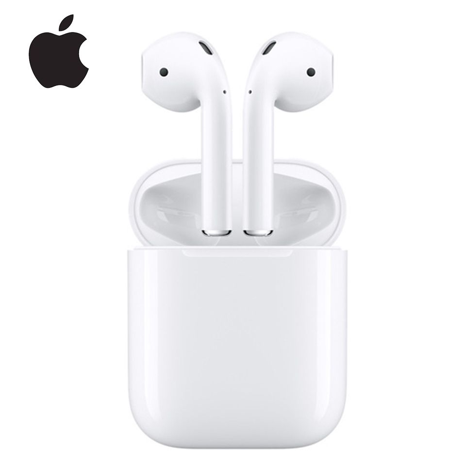 Original Apple Airpods 2 Wireless Bluetooth Earphone Tones Connect Siri With Charging Case For Iphone Bluetooth Earphones Apple Watch Price Wireless Bluetooth
