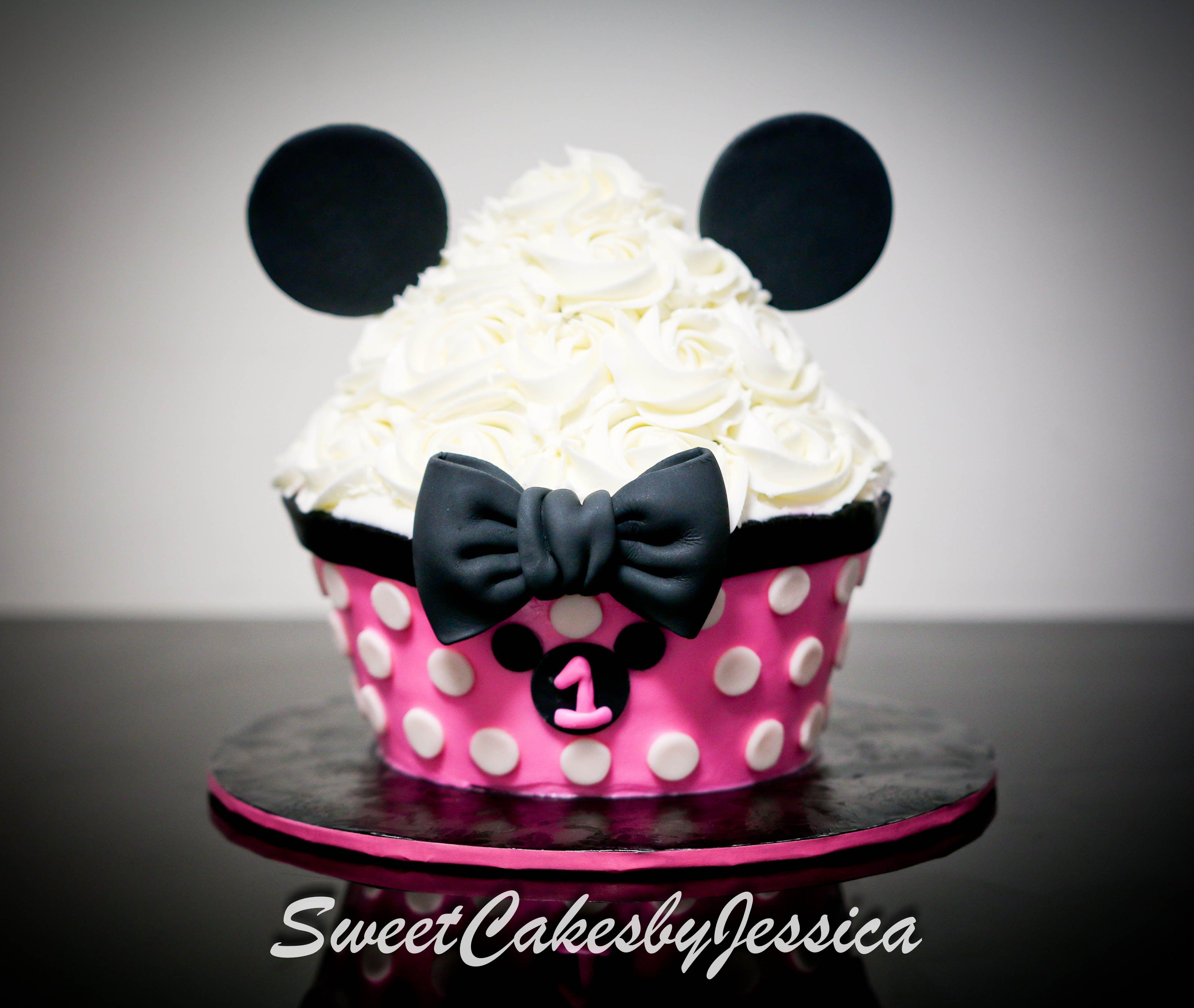 Minnie Mouse Minnie Mouse Cake Smash Cake Ideas Pink