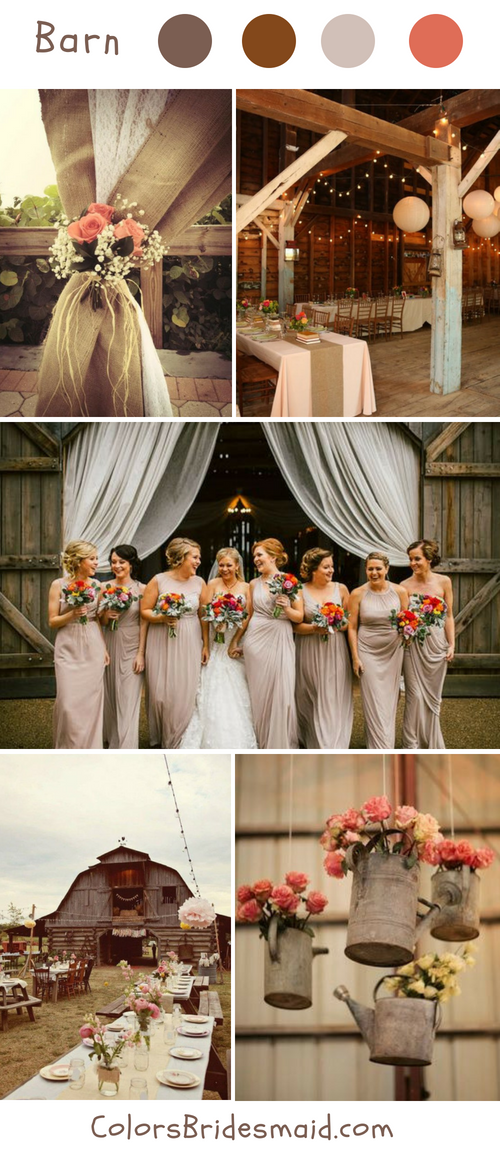 Top 10 Rustic Fall Wedding Ideas and Colors   Fall wedding ...