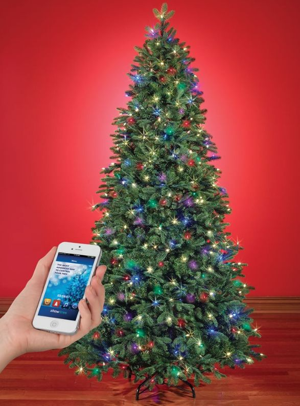 The Music And Light Show Wi Fi Christmas Tree This Is The Prelit