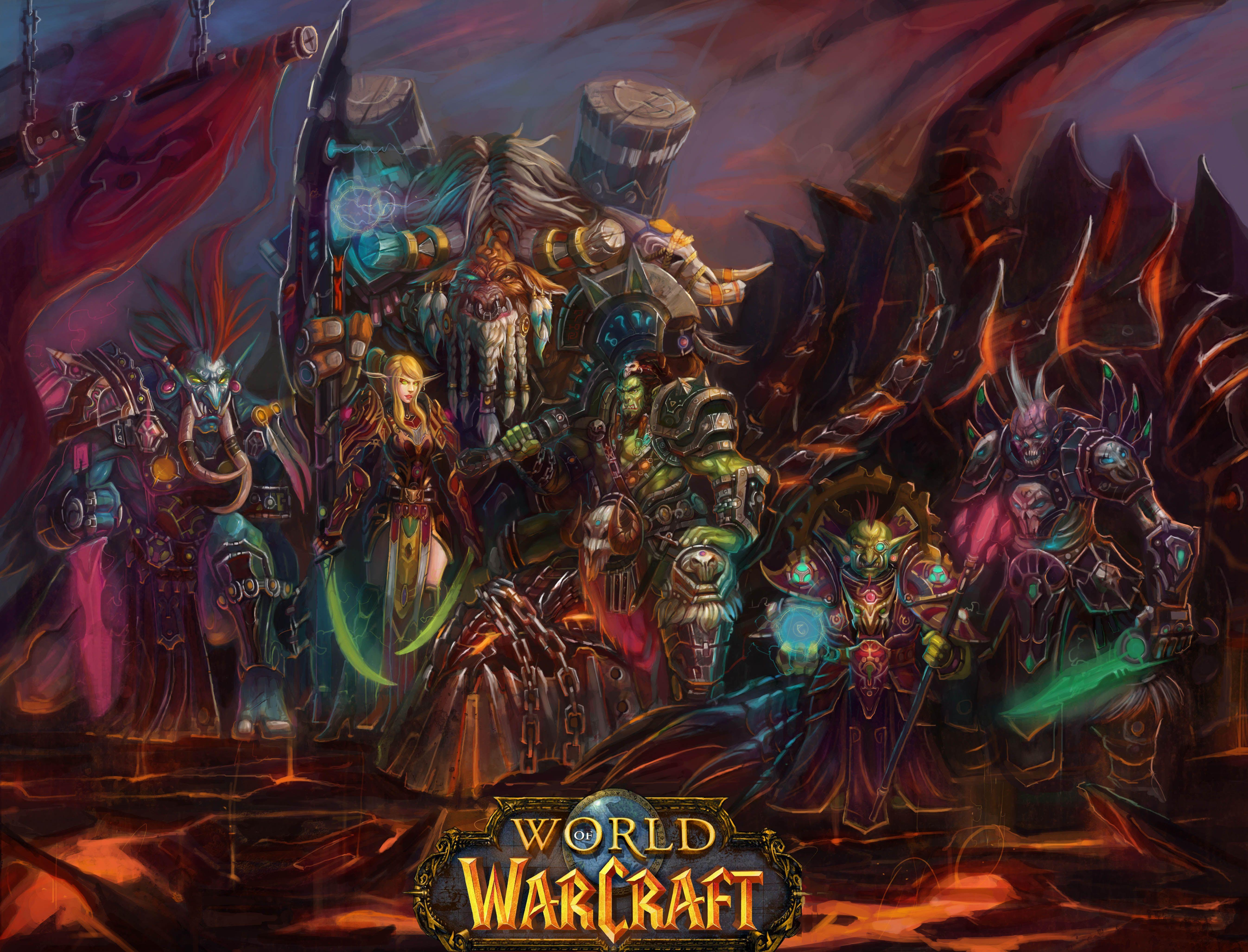 Browsing Wallpaper On Deviantart World Of Warcraft World Of