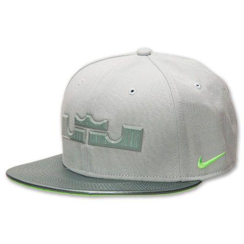 2e0953c01a5e3 NIKE LeBron Neutral Snapback Cap Hat Dunkman 637593-331 gray gorge green  volt  NIKE  BaseballCap. Find this Pin and ...
