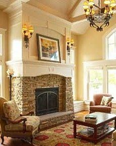 fireplace pictures stone | Living Room | Pinterest | Fireplace ...