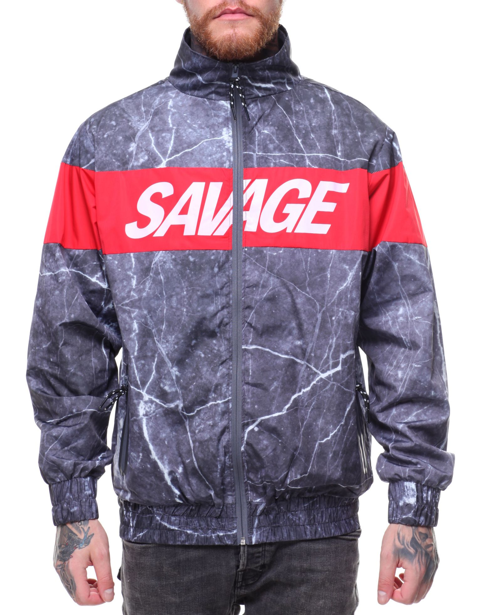 Savage Track Jacket Men S Outerwear From Hudson Nyc Find Hudson Nyc Fashion More At Drjays Com Hudson Nyc Jackets Mens Jackets [ 1962 x 1570 Pixel ]