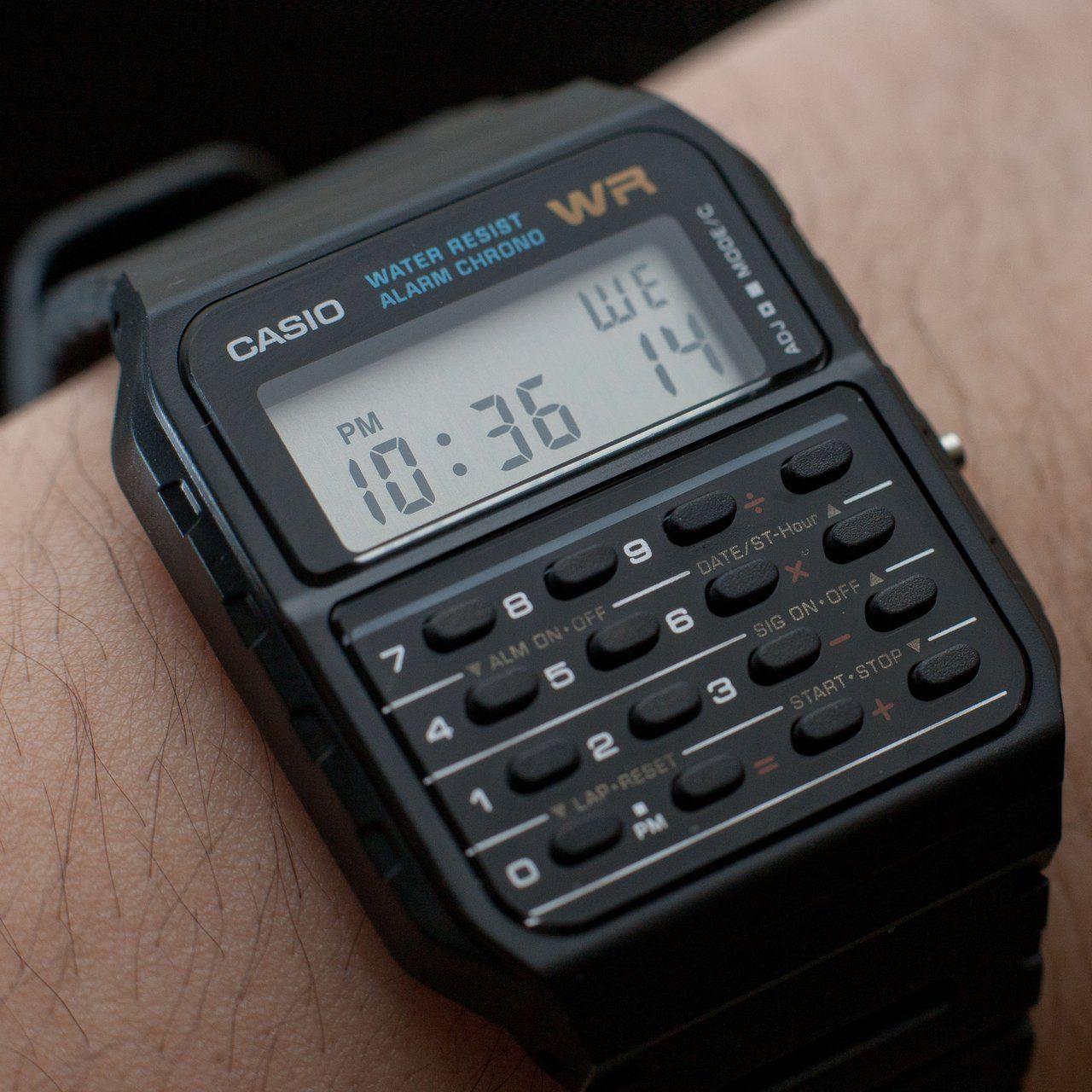 Casio Calculator Watch #Calculator, #Digital, #Watch