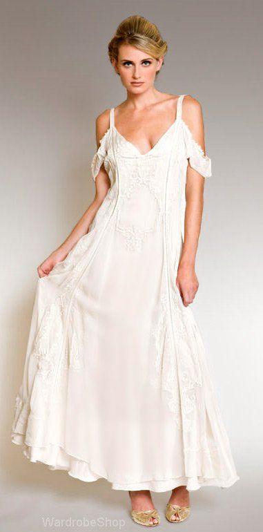 Vintage Style Informal Wedding Dresses | Wedding