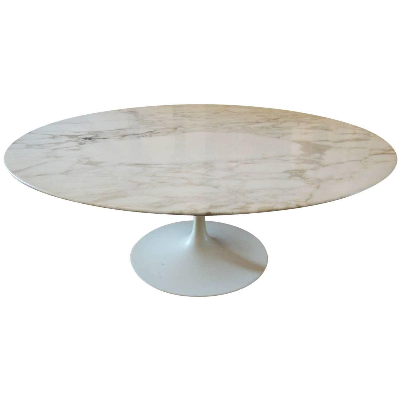 Eero Saarinen Round Marble Coffee Table Marbles - Saarinen table top only
