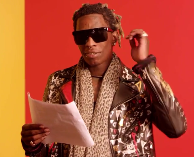 Watch Young Thug Recite The Lyrics To Best Friend Young Thug Popular Rappers Young Thug Songs
