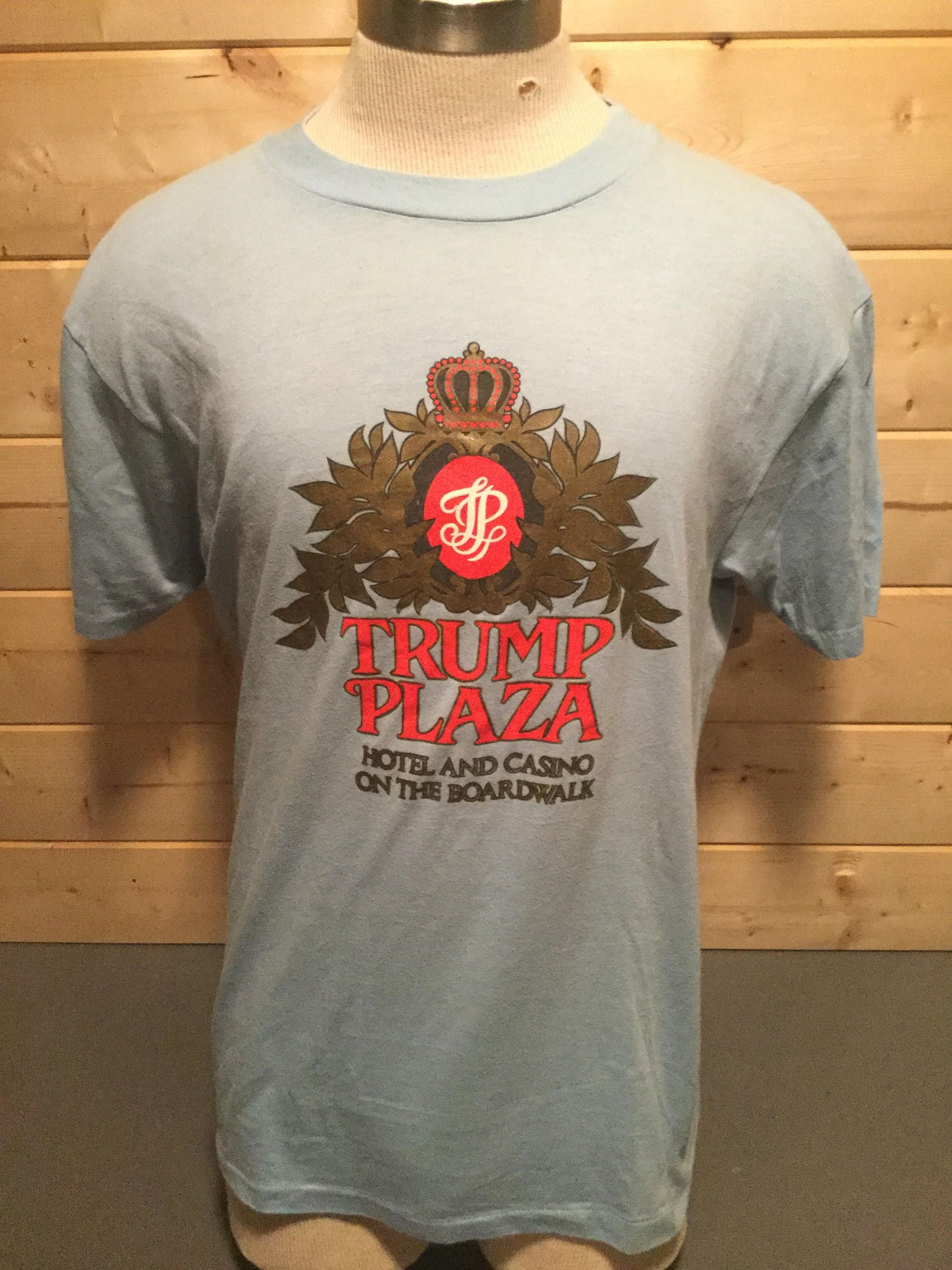 Vintage 1980 s Hilarious Trump Plaza Shirt 50 50 T-Shirt by 413productions  on Etsy 49ca80dbe