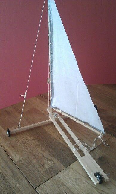 Sand Yacht Based On Opitec Kit Land Sailing Sailing Sailing Yacht
