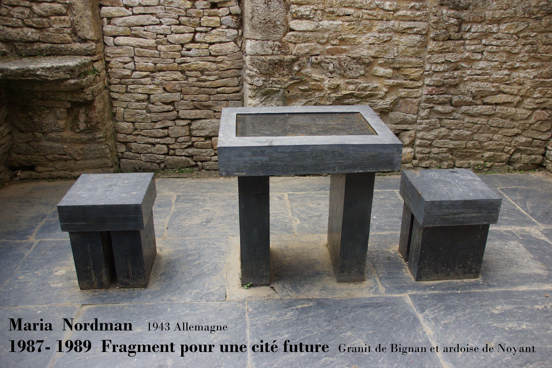 Maria NORDMAN : Fragment pour une cité future (1987- 1989)