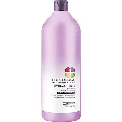 Pureology Hydrate Sheer Shampoo Size 33 8 Oz33 8 Oz Pureology Shampoo Mint Essential Oil