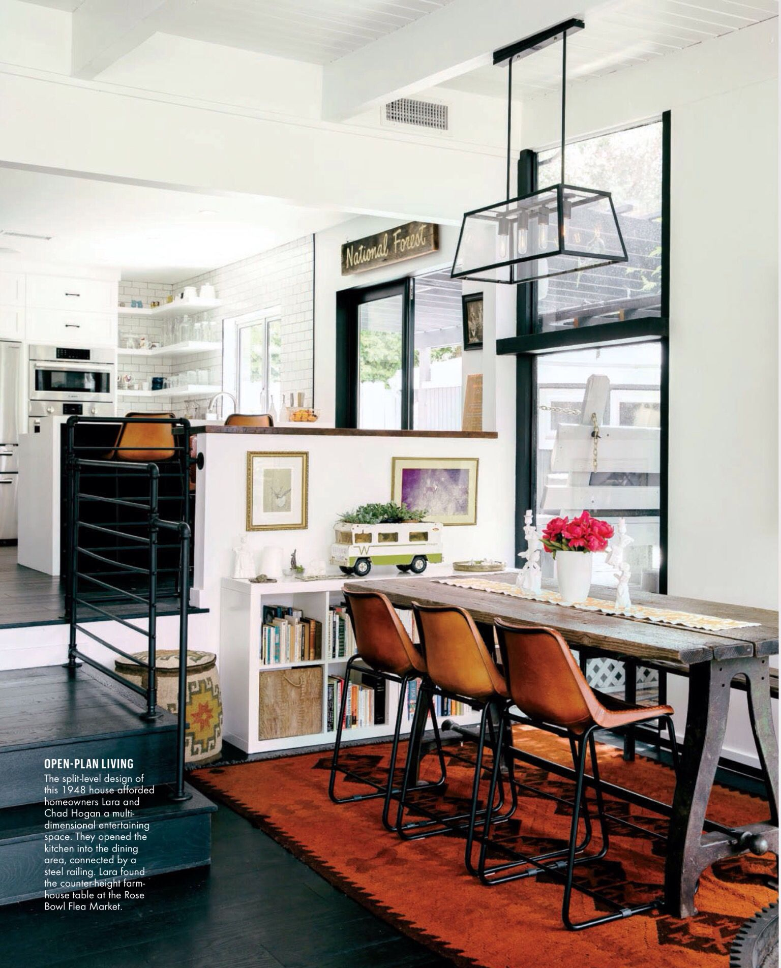 Sunset magazine Contemporary interior design, Interior