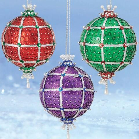 Sunrise Craft & Hobby™ Holiday Patchwork Ornament Kit
