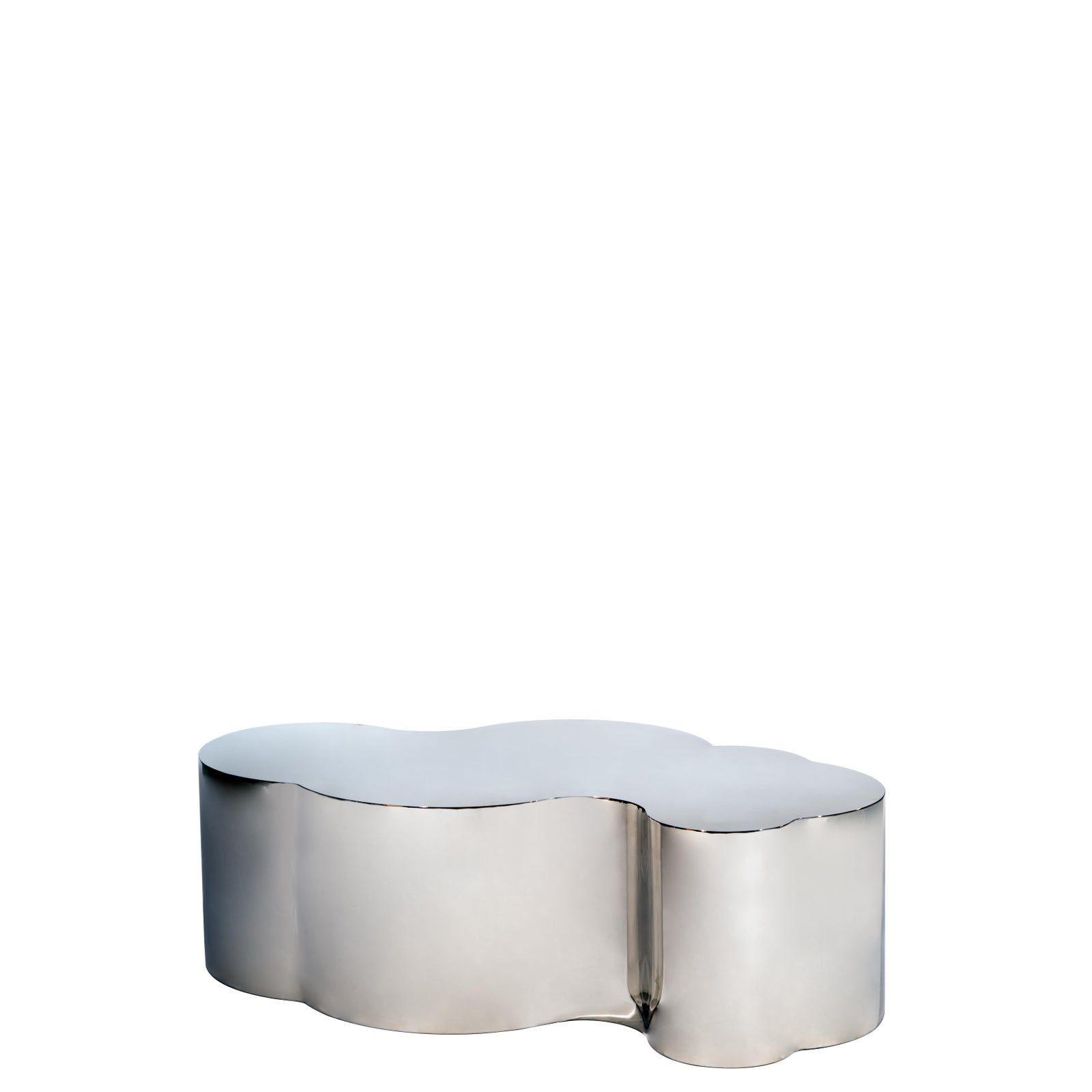 Modern Silver Luca Coffee Table Chairish Coffee Table Coffee Table Frame Everyday Essentials Products [ 1600 x 1600 Pixel ]