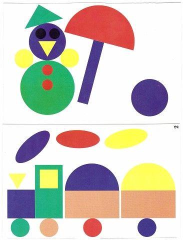 Фотография | Геометрические фигуры, Поделки для ...