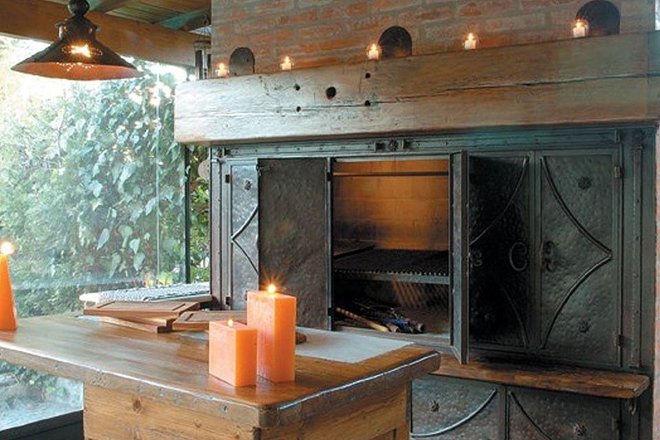 Parrillas interiores buscar con google quincho terraza for Quincho cocina comedor